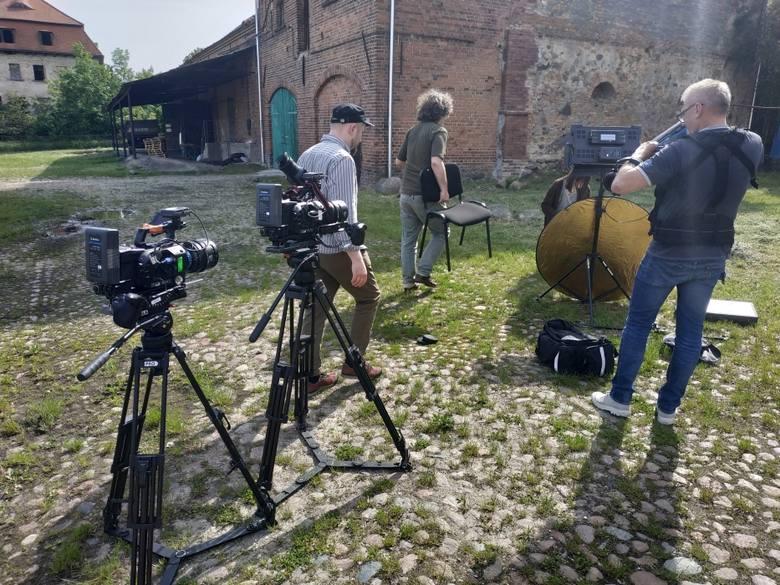 Renata Wiśniewska z winnicy Saint Vincent szybko oswoiła się z kamerą