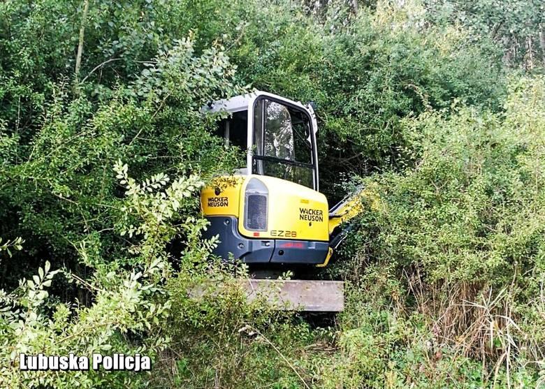 We wtorek nad ranem (27 sierpnia) policjanci kryminalni żagańskiej jednostki przy współpracy z policją niemiecką znaleźli na terenie powiatu żagańskiego