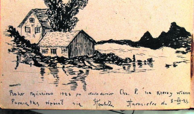 Pamiętnik wyróżnia się pięknymi, wręcz artystycznymi ilustracjami. Wiadomo tylko, że należał do Irki, a ta otrzymała go od Halinki.