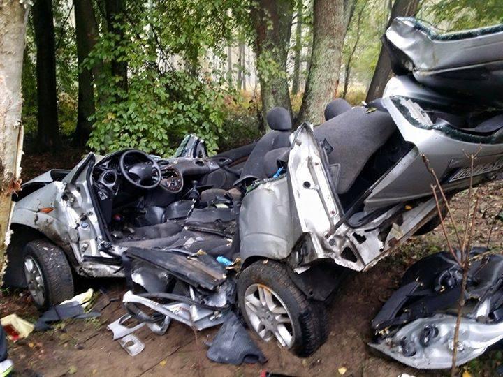 Do wypadku doszło w sobotę, o godz. 11.03, na drodze pomiędzy Stepnicą a Goleniowem w okolicach miejscowości Kąty.
