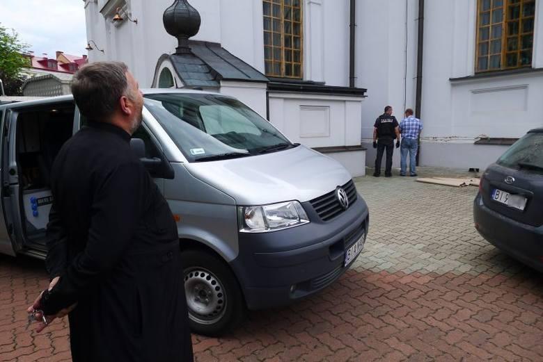 Cerkiew św. Mikołaja zdewastowana. Policja bada sprawę (zdjęcia, wideo)