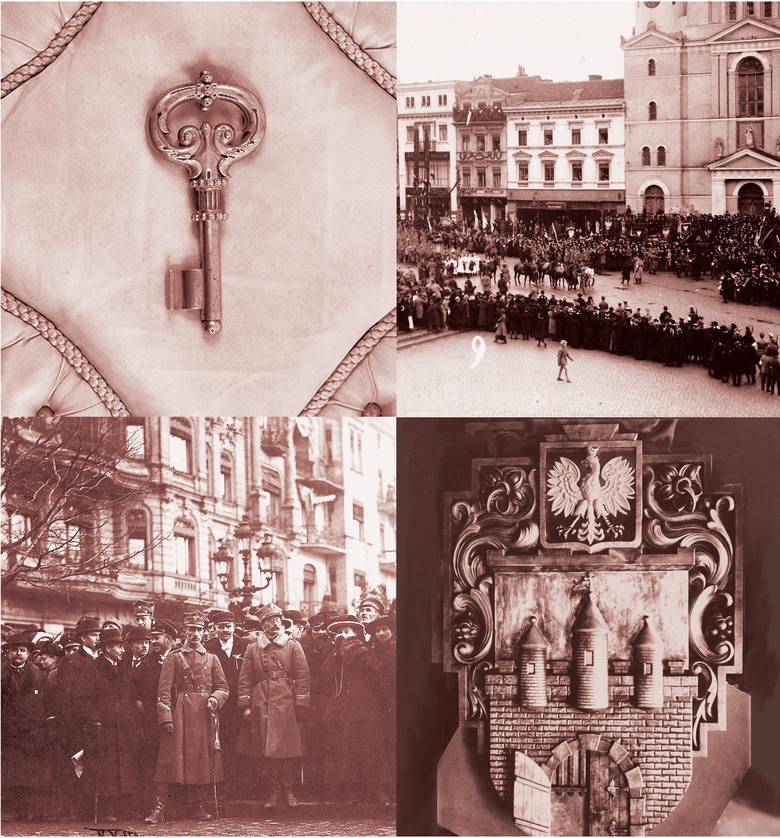 """Na wystawie  """"Ku Wolności. Bydgoszcz 1914-1920"""" w Spichrzach nad Brdą od 20 stycznia będzie można zobaczyć blisko 400 zabytkowych eksponatów. Na zdjęciach"""