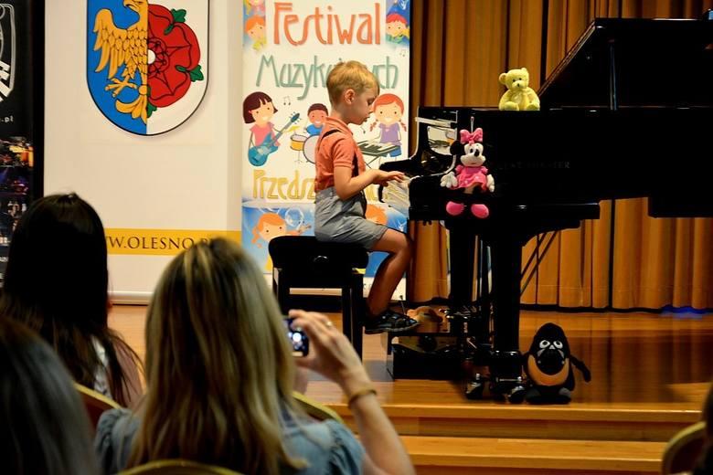 XVI Festiwal Muzykujących Przedszkolaków w Oleśnie