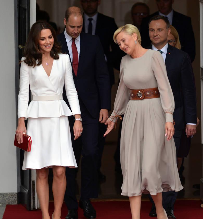 Księżna Kate Middleton podczas wizyty w Polsce