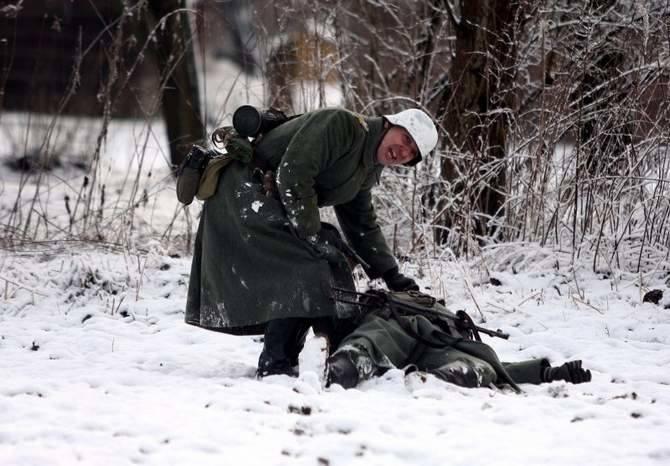 Rekonstrukcja walk na przedpolach Moskwy