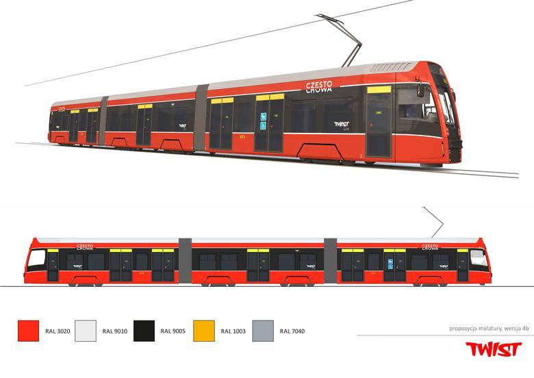 """Wizualizacja nowych tramwajów """"Twist"""""""