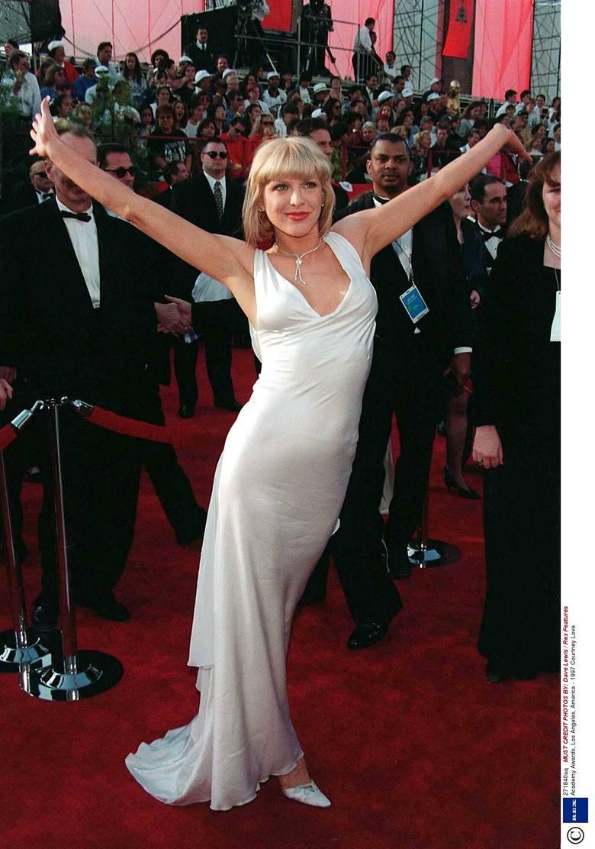 Courtney Love na 69. gali wręczenia Oscarów w 1997 r.