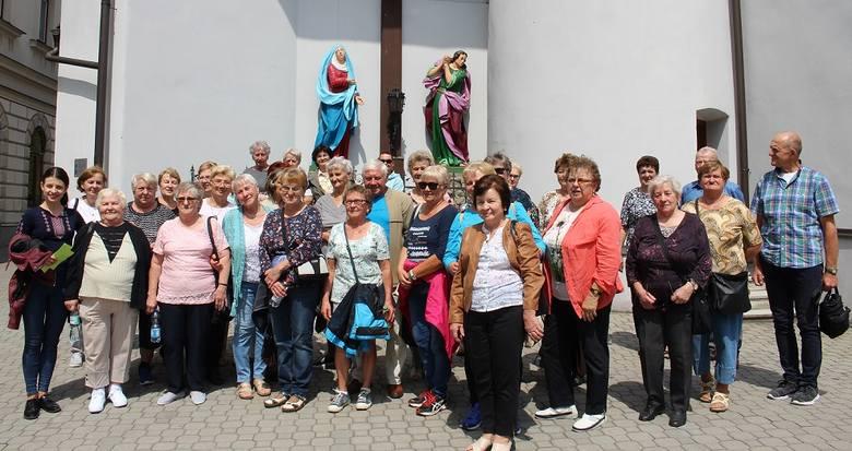 Seniorzy z Gogolina w czeskim Jabłonkowie.