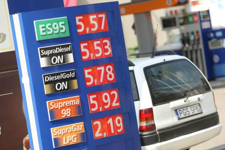 Wakacje w pełni, a to oznacza wyższe ceny paliw (NASZ RAPORT)