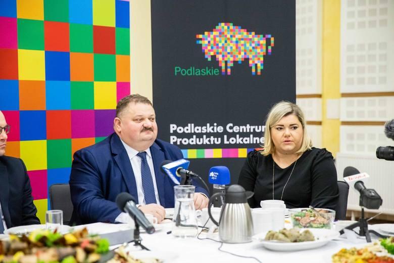- Inaugurujemy nowy catering w urzędzie marszałkowskim, po to żeby promować naszą podlaską żywność w sposób niekonwencjonalny – mówił wicemarszałek Stanisław