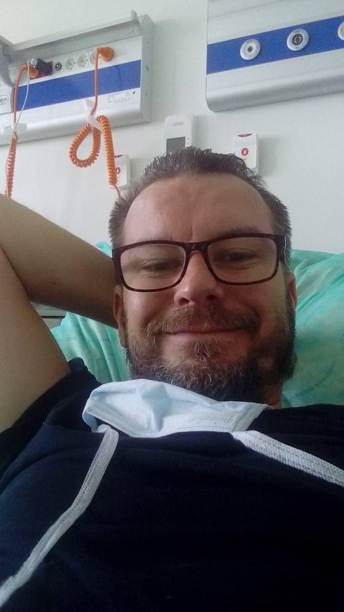 Jędrzej Majka, ozdrowieniec: Musiałem oswoić śmierć