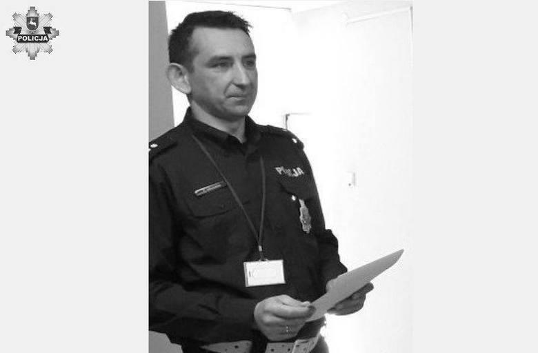 Nie żyje Paweł Gruszka, szef drogówki w Hrubieszowie