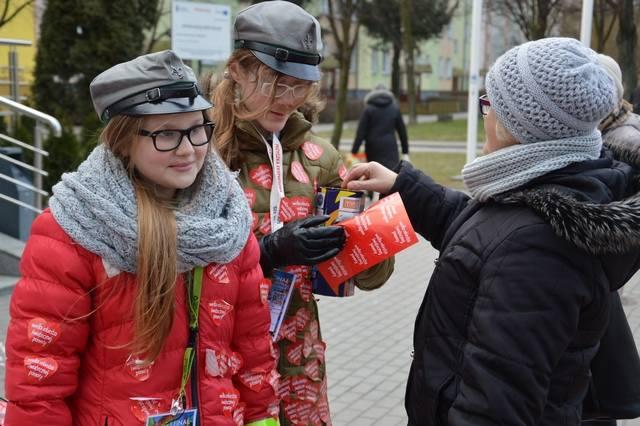 Na ulicach Wyszkowa kwestowało 120 wolontariuszy