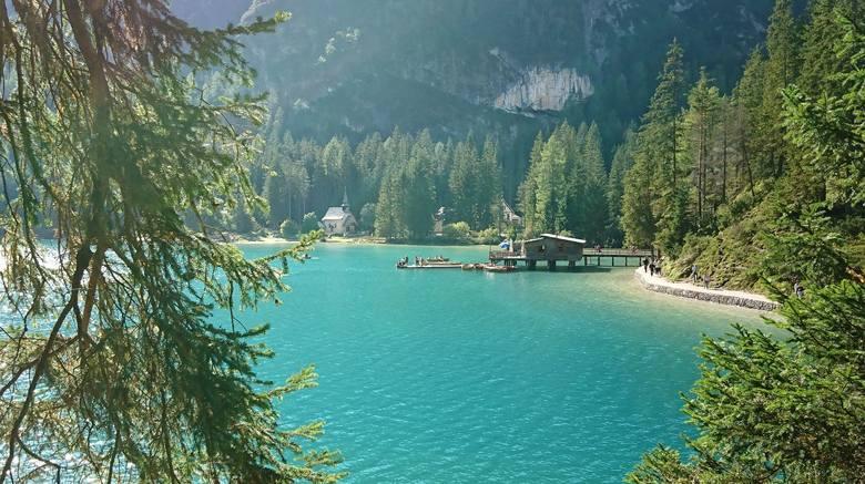 Subaru Foresterem, przez Val Pusteria, nad urocze Jezioro Braies
