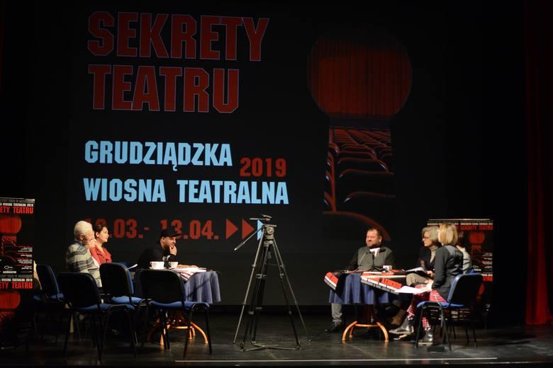 """Za niespełna miesiąc pierwsza odsłona jubileuszowej, piętnastej edycji Grudziądzkiej Wiosny Teatralnej. Tym razem hasłem festiwalu są """"Sekrety"""