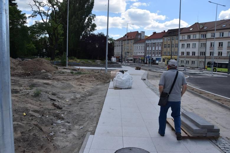 Przebudowa ul. Sikorskiego jest już na ukończeniu.