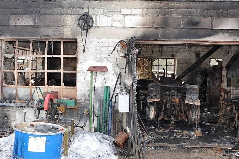 Pożar w Kudeliczach