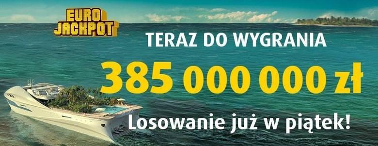 EUROJACKPOT WYNIKI 22 11 2019. Eurojackpot - wielka kumulacja 22 listopada 2019. Do wygrania jest 385 mln zł! [wyniki, numery, zasady]