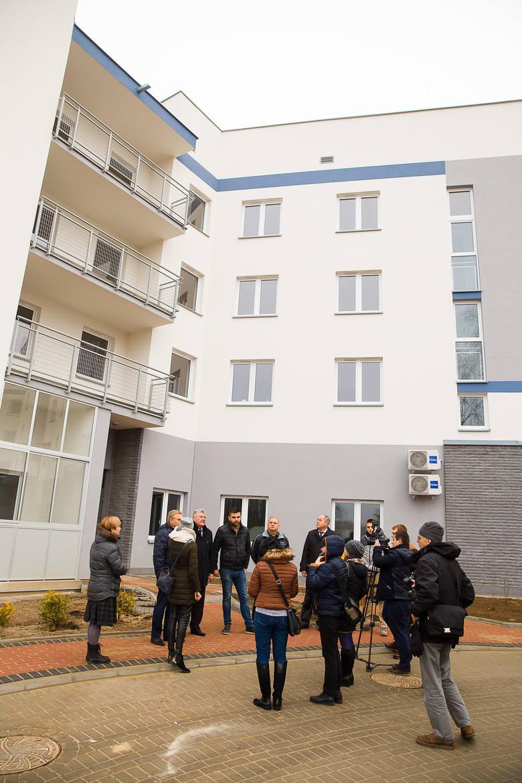 Nowy blok powstał przy ul. Komisji Edukacji Narodowej w Białymstoku. Pierwsi lokatorzy otrzymali klucze do mieszkań