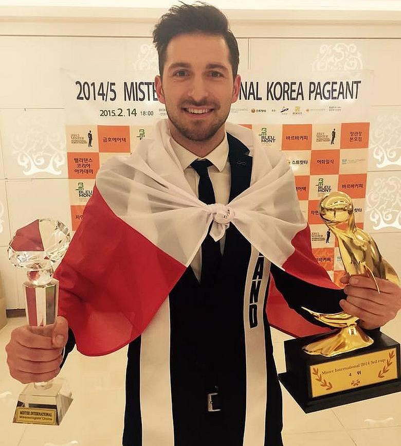 Rafał Maślak napisał na facebooku, że jest najszczęśliwszym człowiekiem na świecie. W sobotę podczas wyborów Mister International w Seulu został wybrany