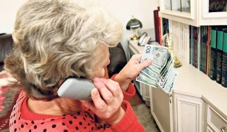 Bardzo często popełnianym przestępstwem, którego ofiarami padają ludzie starsi, jest czyn polegający na wyłudzeniu pieniędzy przez osoby podające się