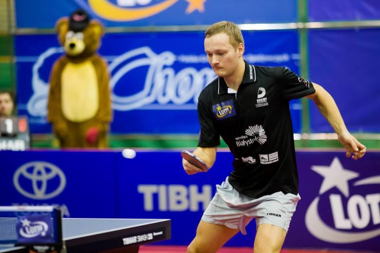 Aleksander Chanin z Dojlid przegrał 1:3 z liderem Polonii Bytom - Tomasem Konecnym.
