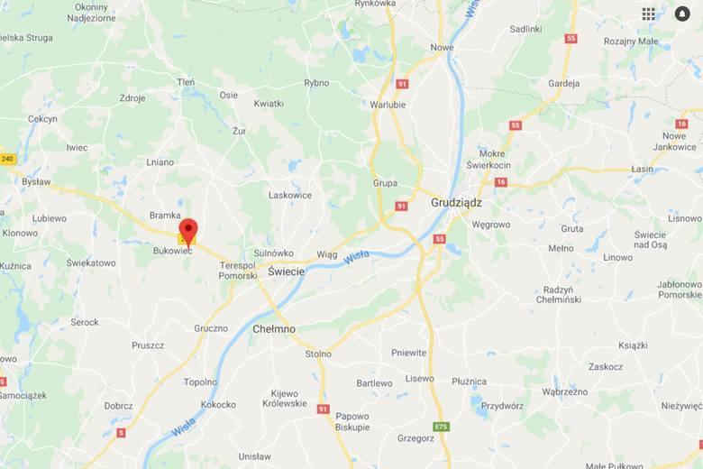 Do zdarzenia doszło przed godziną 5 w miejscowości Dolny Młyn.