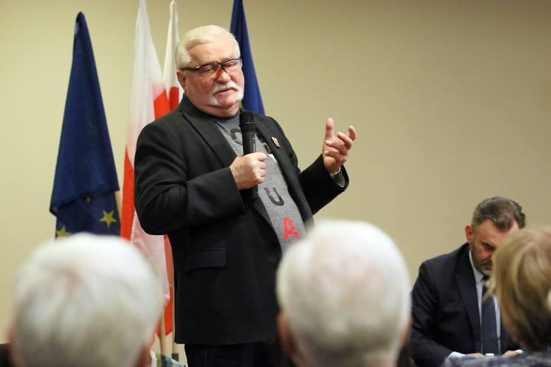 Lech Wałęsa w Lublinie: Dobrze, że są skrajności. Dobrze, że one zmuszają nas do działania