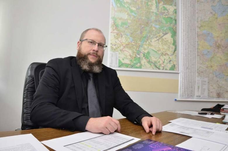 Piotr Nowicki, dyrektor Szpitala Wojewódzkiego w Poznaniu