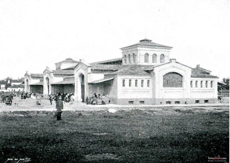 Fotografia z albumu Widoki Radomia, wyd. Al. Janowski, W-wa 1899r.