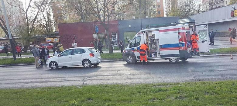 Wypadek na Rydza-Śmigłego w Łodzi. Potrącone dziecko