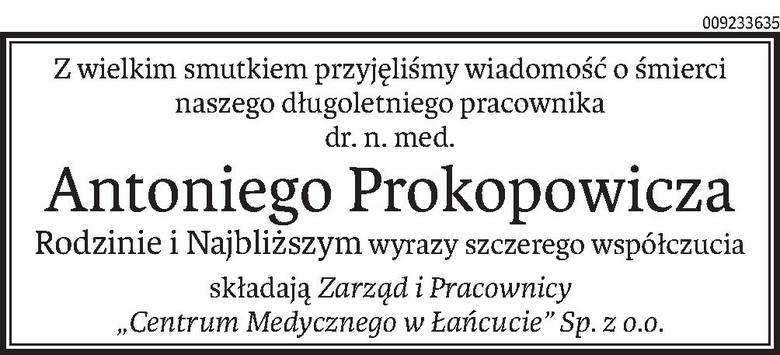 Nekrologi i Kondolencje z dnia 24 lipca 2019 roku