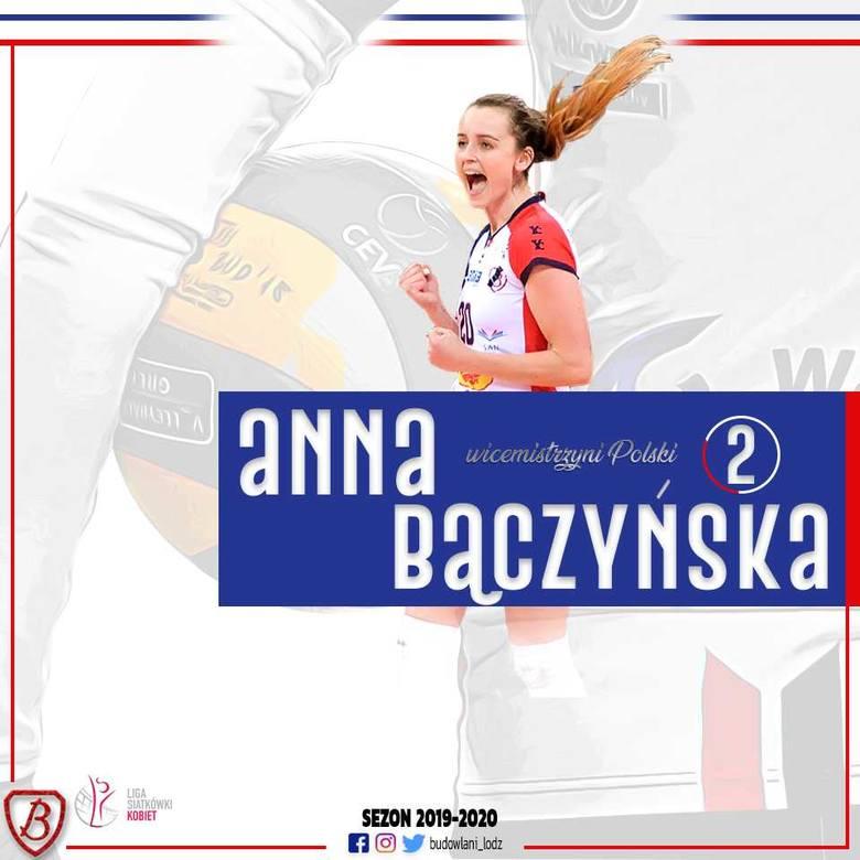 Anna Bączyńska nadal będzie zawodniczką Grot Budowlani