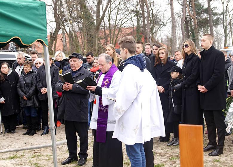 Pogrzeb Jerzego Kalibabki w Dziwnowie. Pożegnali go najbliżsi
