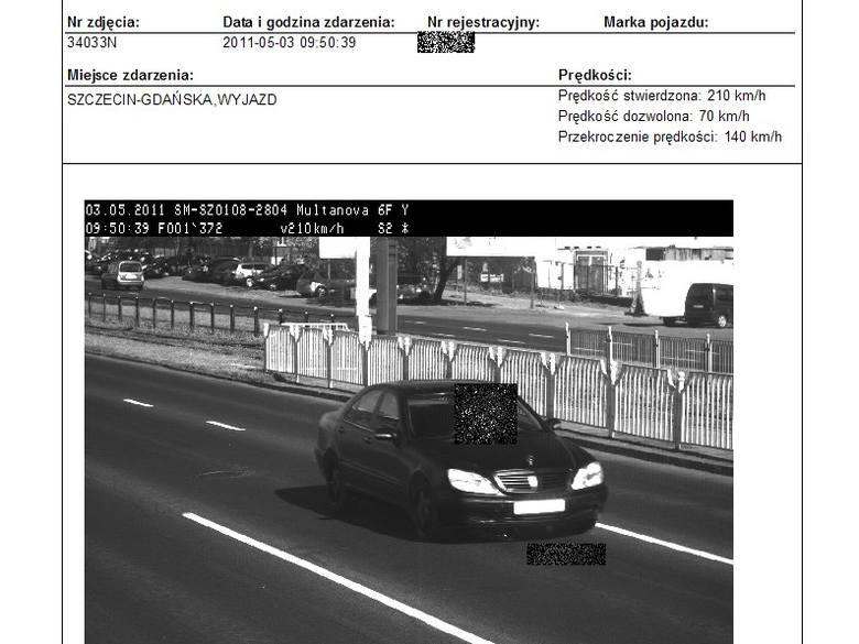 Ten samochód przekroczył dozwoloną prędkość o 140 km/h. Mandatu jednak nie dostanie.