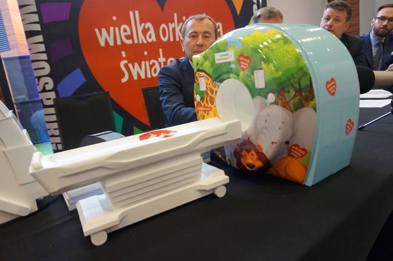 Nowy tomograf komputerowy od WOŚP dla szpitala dziecięcego w Kielcach! Za 5 milinów złotych!