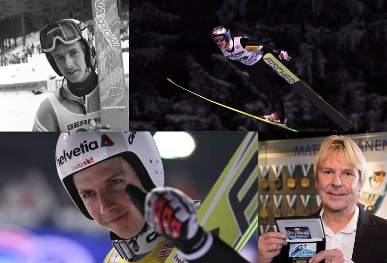 10 najlepszych skoczków narciarskich w historii. Na którym miejscu znajduje się Adam Małysz i Kamil Stoch?