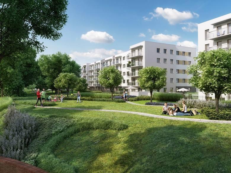 Na osiedlu Reduta Nowe Podolany w sześciu już gotowych budynkach mieszczą się 393 mieszkania. 100 kolejnych zostanie oddanych do użytku wkrótce.<br /> <br /> <strong>Przejdź do kolejnego zdjęcia ---></strong>