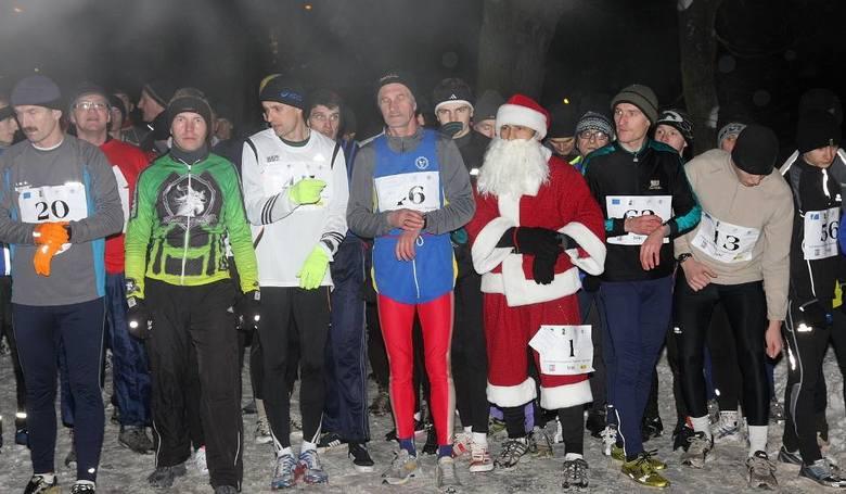 W Nałęczowie tradycyjnie nowy rok powitają w trakcie biegu