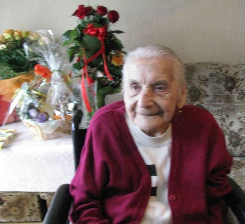 Elżbieta Tarara skończyła 100 lat.