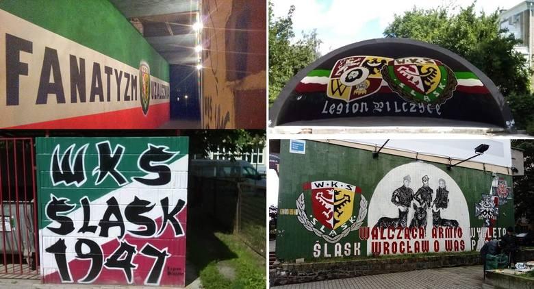 Graffiti Śląska Wrocław - WASZE ZDJĘCIA [GALERIA]. Takiego odzewu się nie spodziewaliśmy! Przysłaliście na mnóstwo zdjęć graffiti Śląska Wrocław rozsianych