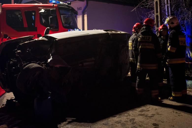Wypadek w Białym Dunajcu. Jedna osoba nie żyje [AKTUALIZACJA, ZDJĘCIA]