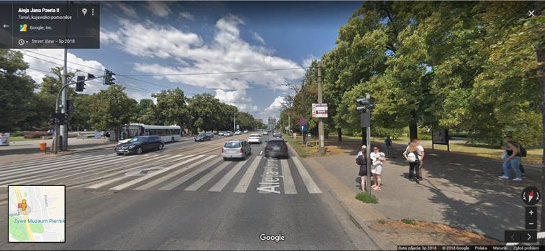 Nowe Zdjecia Z Torunia Na Google Street View Nowosci Com Pl