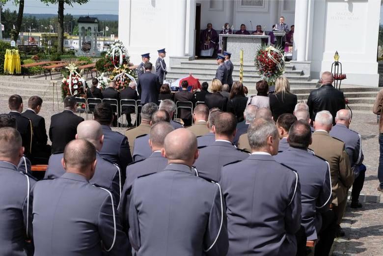 Pogrzeb policjantów CBŚ