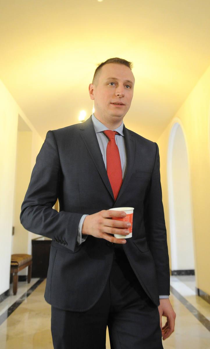 Poseł Krzysztof Brejza