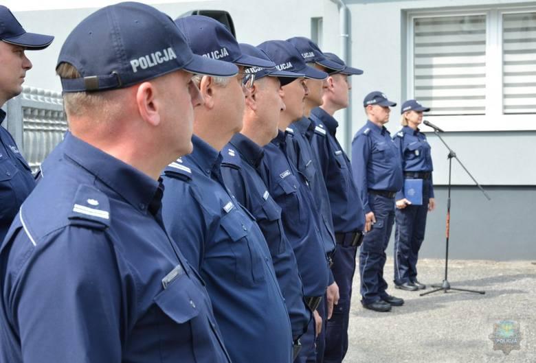 Nowy posterunek policji został otwarty w Prószkowie