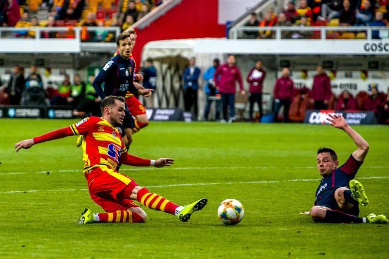 Najlepszy strzelecW Jagiellonii Białystok to Jesus Imaz, który tylko w wiosennych występach zdobył dziesięć bramek, zaś w całym sezonie uzbierał szesnaście