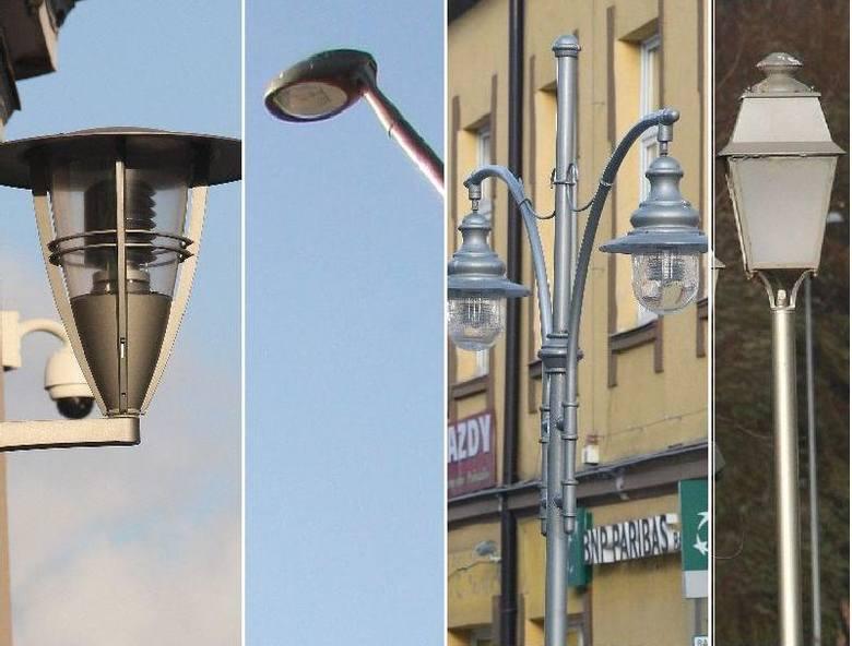 11 rodzajów lamp w centrum Kielc! Nikt nie wie, skąd taki bałagan (zdjęcia)