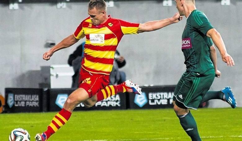 25. Mateusz Piątkowski - Jaga wyciągnęła go z I ligi z Dolcanu Ząbki. Napastnik debiutował w ekstraklasie późno, ale zrobił furorę. Jego gole przyczyniły
