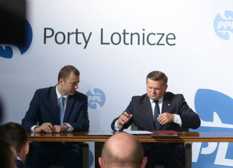 Port lotniczy Radom sprzedany PPL. Premier Mateusz Morawiecki: To wielka szansa dla Radomia i realne miejsca pracy